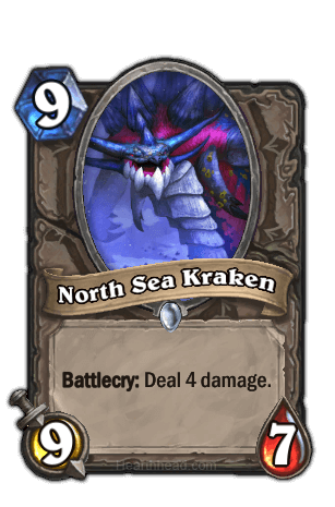 north sea kraken hearthstone kártya