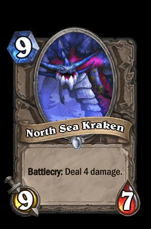 north sea kraken hearthstone kártya