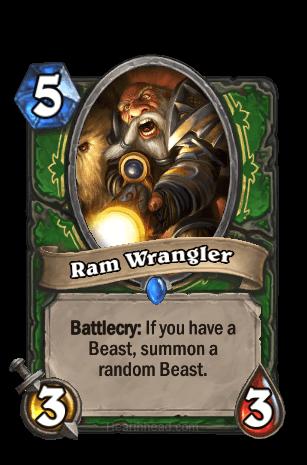 ram wrangler hearthstone kártya