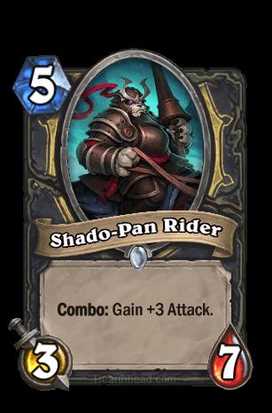 shado-pan rider hearthstone kártya