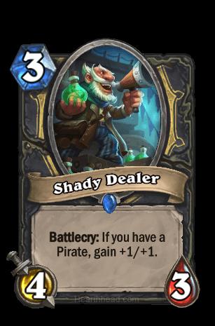 shady dealer hearthstone kártya