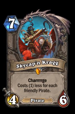 skycapn-kragg hearthstone kártya