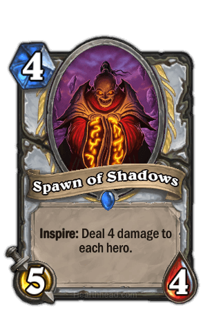 spawn of shadows hearthstone kártya