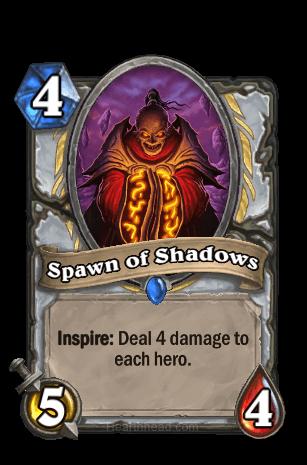 spawn of shadows hearthstone kártya