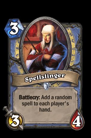 spellslinger hearthstone kártya
