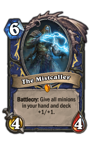 the mistcaller hearthstone kártya