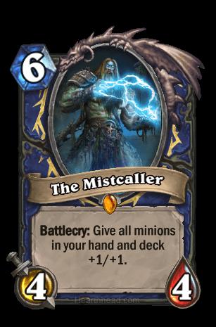 the mistcaller hearthstone kártya