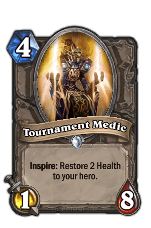 Hearthstone kártya tournament medic