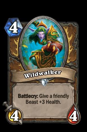 wildwalker hearthstone kártya