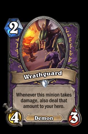wrathguard hearthstone kártya