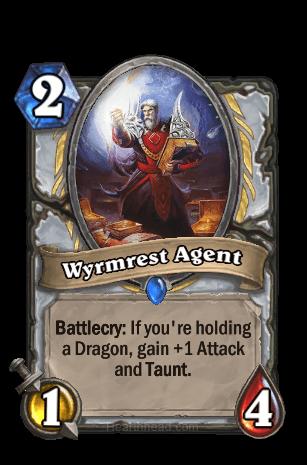wyrmest agent hearthstone kártya