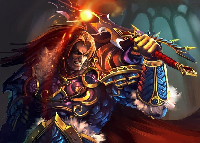 varian wrynn artwork