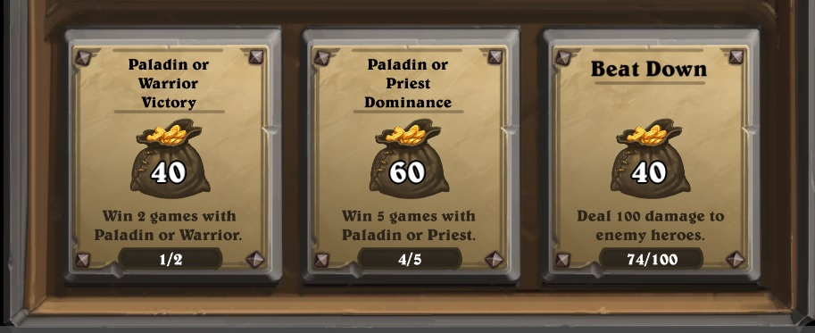 Daily Questek Hearthstone