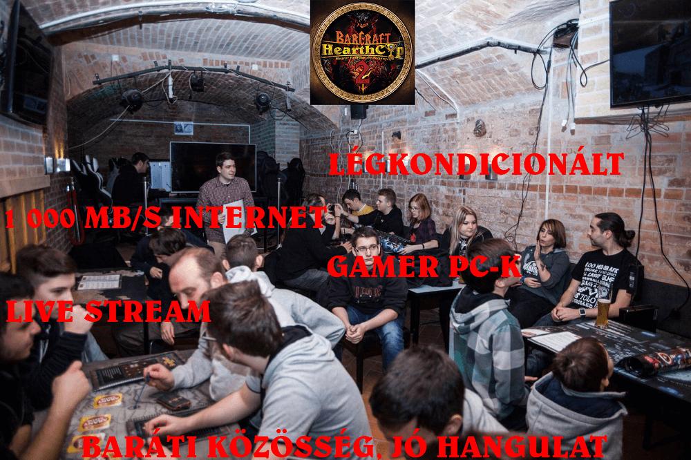 Hearthstone verseny vasárnap a BarCraft2-ben (részletek, jutalmak, stream)