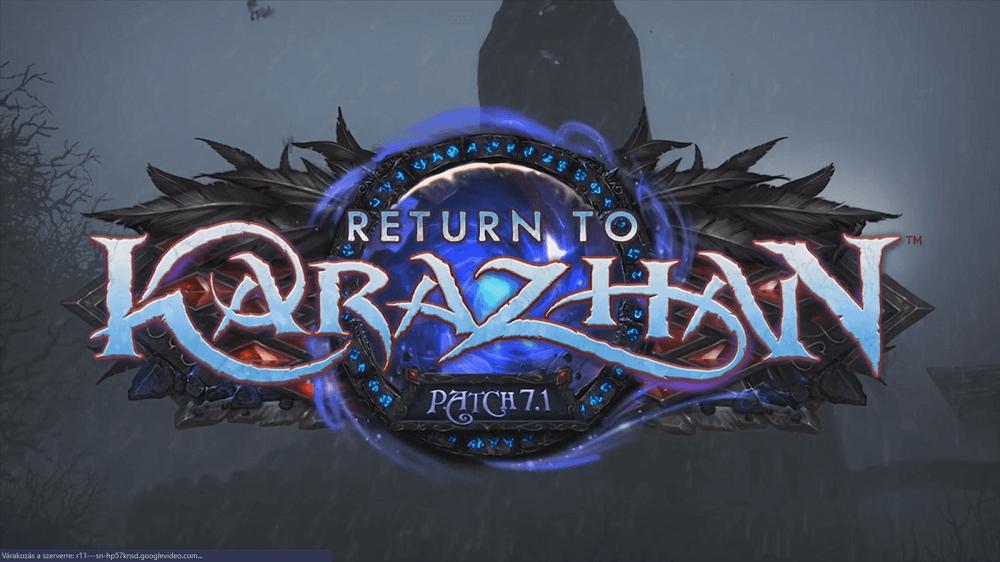 visszatérés Karazhanba