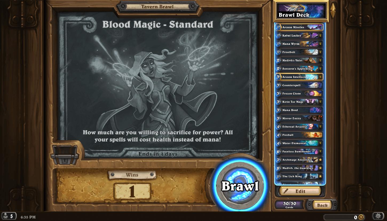 Blood Magic Standard