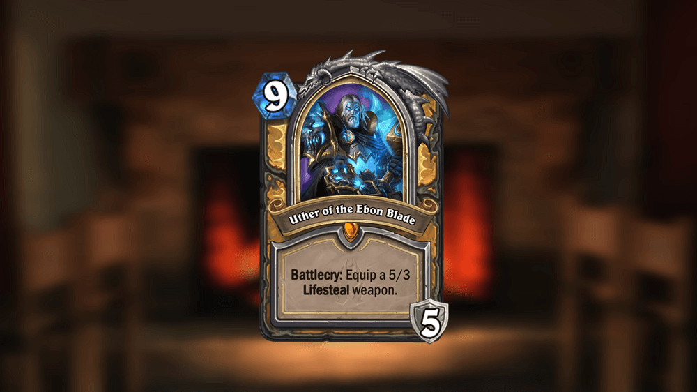 Uther Hero kártya