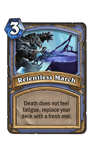 Lich King Relentless March