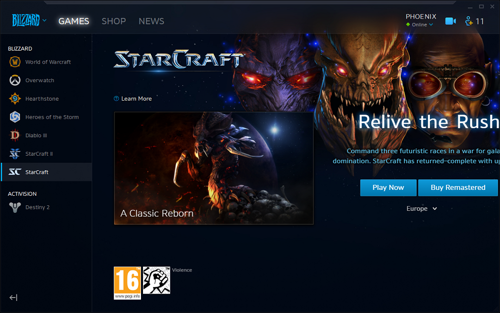Megjelent a StarCraft: Remastered