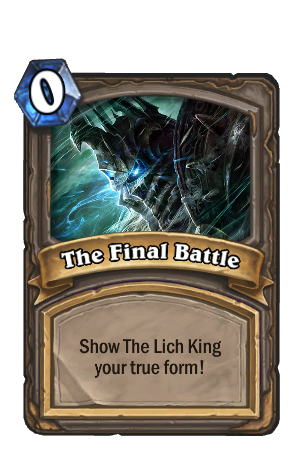 Lich King The Final Battle