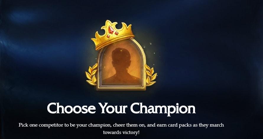 Hearthstone Global Games döntő: Szavazás + ajándék Frozen Throne kártyacsomag