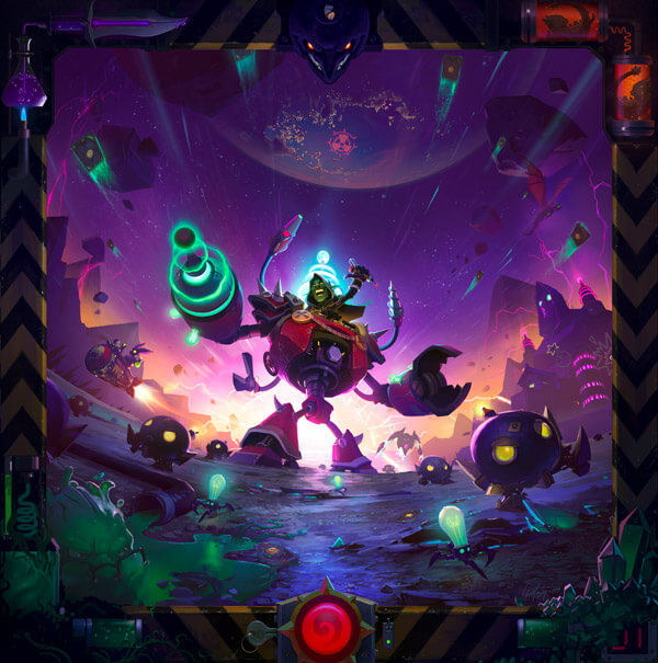The Boomsday Project artwork Hearthstone