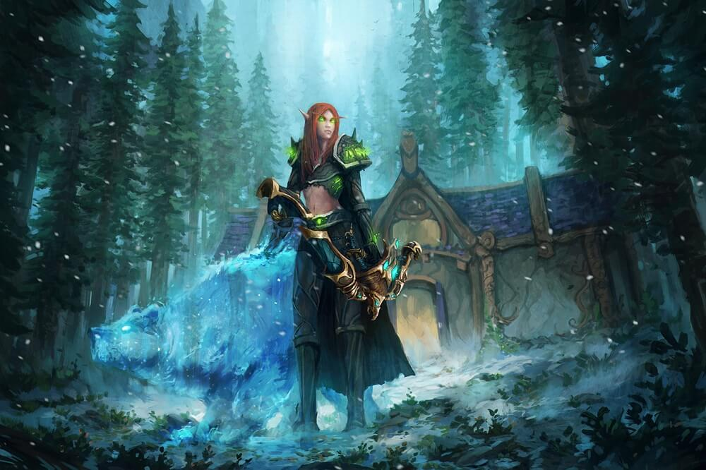 hunter artwork World of Warcraft