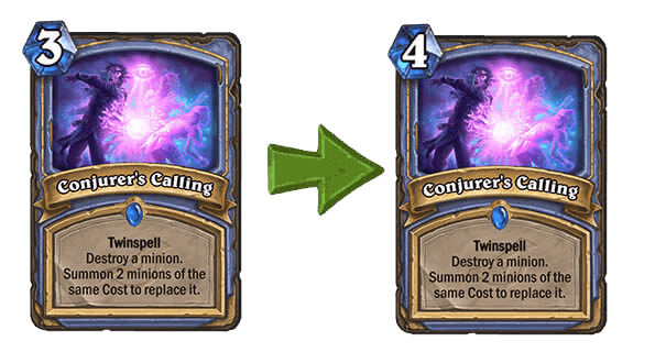 Conjurer's Calling nerf