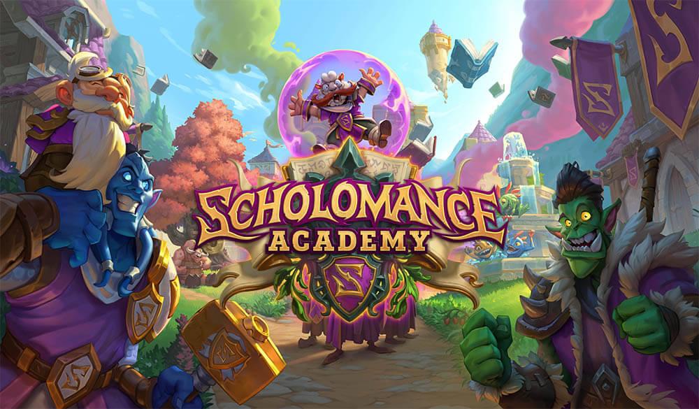 Scholomance Academy megjelenés Hearthstone Hungary