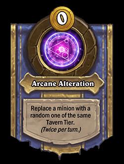 Arcane Alteration
