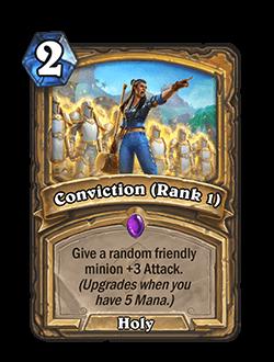 Conviction Rank 1