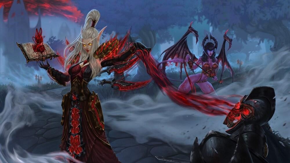 Warlock artwork