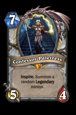 paletress legendary kártya disenchant Naxxramas Hearthstone
