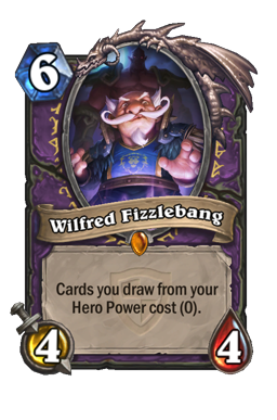 wilfred legendary kártya disenchant Naxxramas Hearthstone