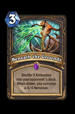 Beneath the Grounds