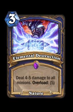 Elemental Destruction
