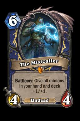 mistcaller legendary kártya disenchant Naxxramas Hearthstone
