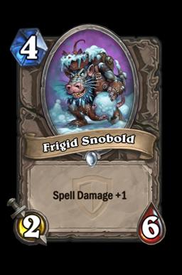 Frigid Snobold