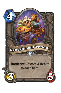 Refreshment Vendor