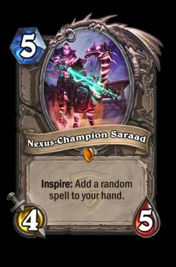 saraad legendary kártya disenchant Naxxramas Hearthstone
