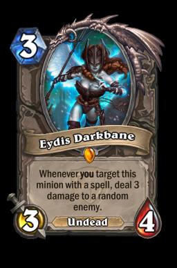 eydis legendary kártya disenchant Naxxramas Hearthstone