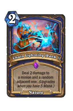 Chain Lightning (Rank 1)