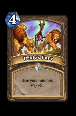 Pride's Fury