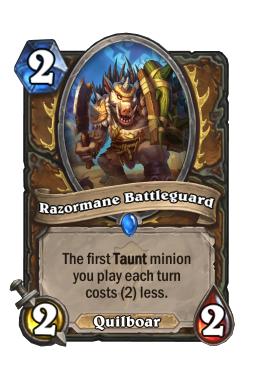 Razormane Battleguard
