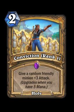 Conviction (Rank 1)