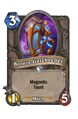 Bronze Gatekeeper
