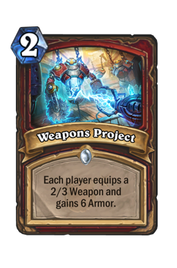 Weapons Project