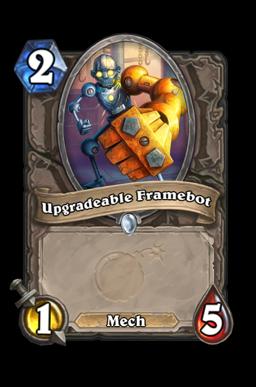 Upgradeable Framebot