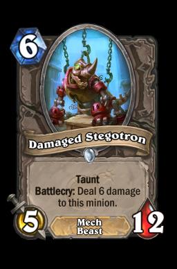 Damaged Stegotron