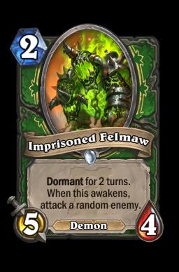Imprisoned Felmaw